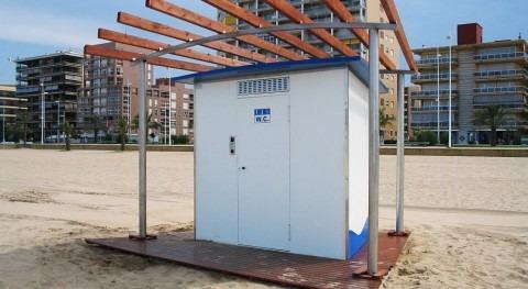 Saneamiento vacío, más adecuado condiciones playa