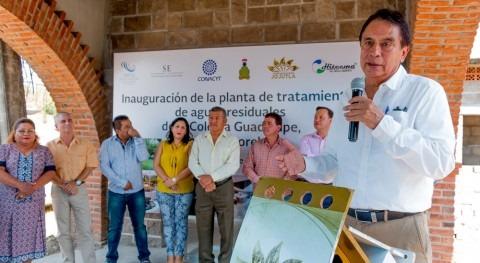 Se inaugura planta tratamiento aguas residuales tecnología desarrollada IMTA