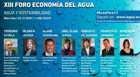recuperación económica post-COVID pasa gestión firme y sostenible agua