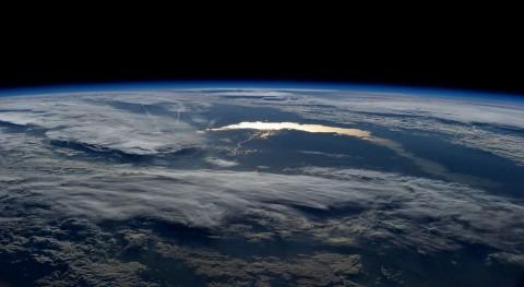 El Lago Baikal desde la Estacion Espacial Internacional (NASA)