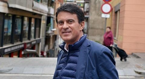 """Manuel Valls: """"No parece que remunicipalización sea gran idea, más bien todo lo contrario"""""""