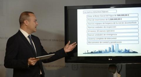 Palmas Gran Canaria reforma tarifa agua y sistema normativo servicio