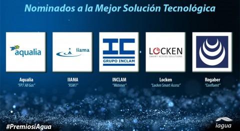 Premios iAgua reconocerán Mejor Solución Tecnológica 2017
