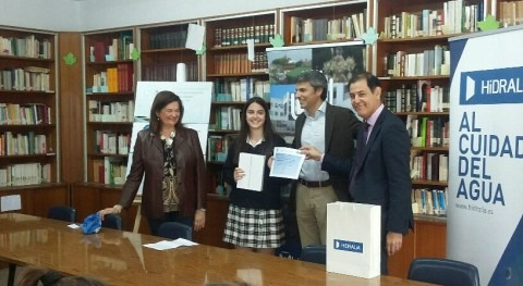 Blanca Rodríguez, ganadora Certamen Relatos Agua Inteligente Hidralia