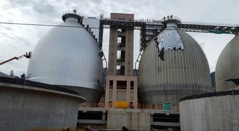 JSF Hidráulica construye estructura arquitectónica fachada PTAR Bello Colombia