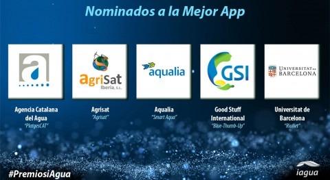 Premios iAgua reconocerán Mejor APP 2017