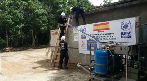 potabilizadora PP 4X4 trabaja ya República Dominicana mano BUSF