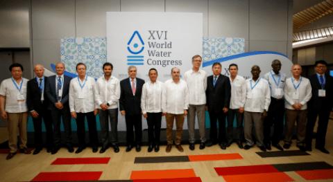 Se desarrolló éxito XVI edición Congreso Mundial Agua Cancún, México