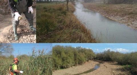 CHE concluye 17 actuaciones mejora capacidad desagüe cauces Huesca