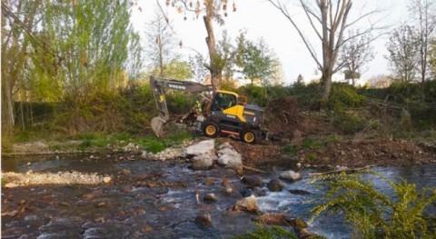 CHE concluye 26 actuaciones mejorar capacidad desagüe cauces Rioja