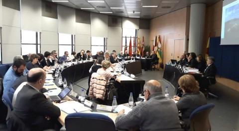 Reunión dos principales órganos colegiados Confederación Hidrográfica Ebro