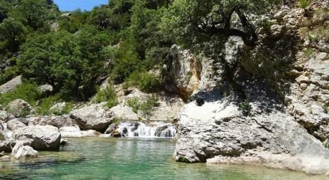 Conociendo cuenca Ebro: Barranco Barrasil río Alcanadre, Rodellar, Huesca