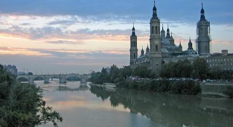 Río Ebro a su paso por Zaragoza (wikipedia/CC)