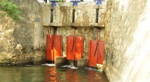 Instituto Nacional Recursos Hidráulicos Dominicana construye obras canal Mao-Gurabo