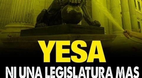 Yesa, ni legislatura más