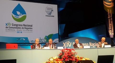 Regantes frente cambio climático: sostenibilidad, infraestructuras, mix recursos, modernización