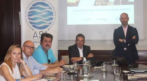 Vintegris Tech ofrece al sector andaluz agua sesión Firma Digital y Seguridad Jurídica