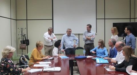 Grupos Trabajo Laboratorios y Calidad Agua Consejería andaluza Salud