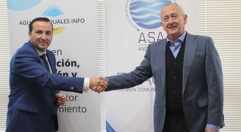 ASA firma convenio colaboración formación revista sectorial Aguas Residuales.Info