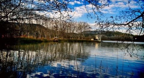 sistema drenaje lago Banyoles