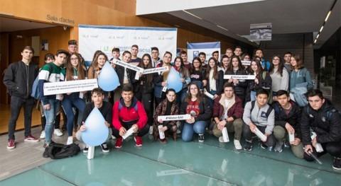 Más 150 estudiantes conmemoran FACSA Día Mundial Agua UJI