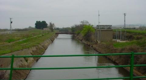 CHE adjudica obra mantenimiento Canal Lodosa Castejón, Navarra