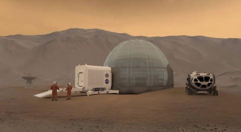 Agua y vida Marte, conquista sueño