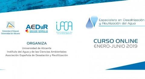5ª edición curso semipresencial especialista desalación y reutilización agua
