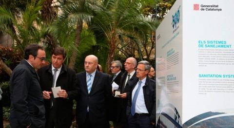 Josep Rull pone relieve éxito modelo catalán saneamiento agua
