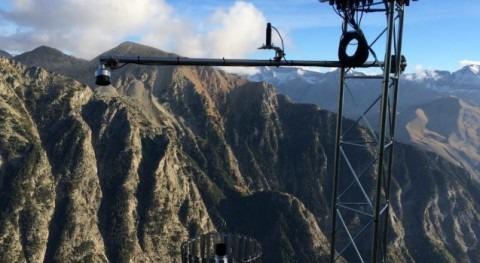 Instalación estación nivo-meteorológica y web-cam remota Panticosa
