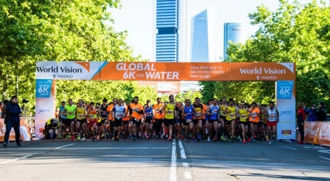 Miles participantes Global 6K For Water