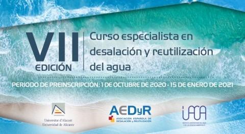 Especialista Desalinización y Reutilización Agua