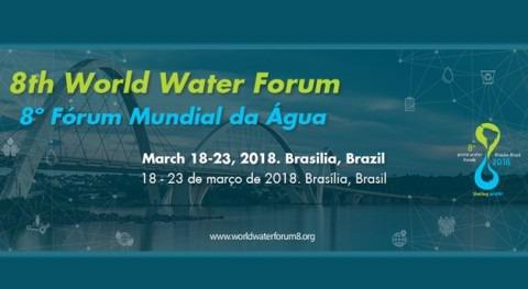 Gonzalo Delacámara representa IMDEA Agua Foro Mundial Agua Brasilia