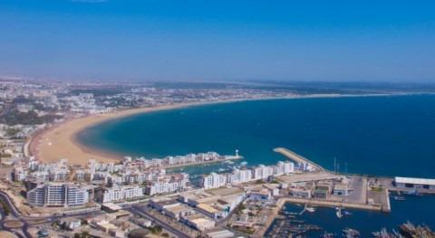 Vista aérea de Agadir