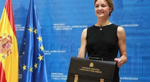 ministra García Tejerina inaugurará XIII Congreso Nacional Regantes