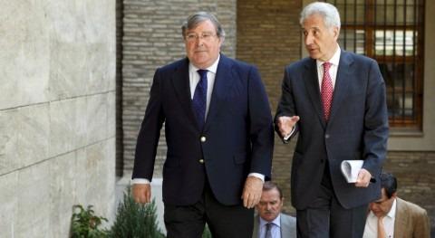 Gobierno Aragón y SAECA presentan nueva línea avales emprender obras modernización regadío Aragón