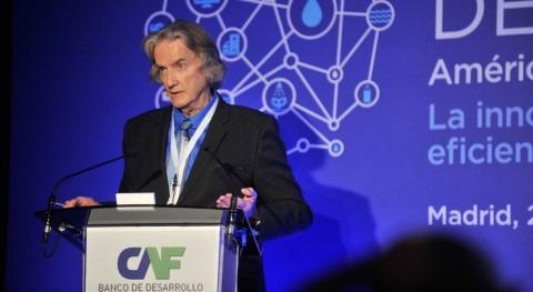 """Gertjan Beekman: """"Hay que buscar nuevas innovaciones tecnológicas producir agua"""""""