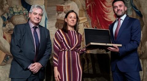 iAgua, galardonada Placa Honor Colegio Ingenieros Agrónomos