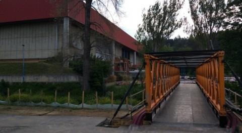 Agencia Vasca Agua URA ha iniciado trabajos sustitución puente Fadura, Getxo