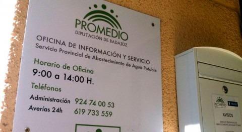 PROMEDIO inicia gestión abastecimiento agua 4 municipios Badajoz