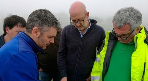 Concluidos trabajos bombeo y conducción agua abastecer ganado Sierra Salvada