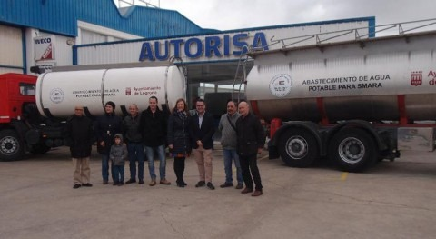 Logroño llevará agua campamentos Sáhara