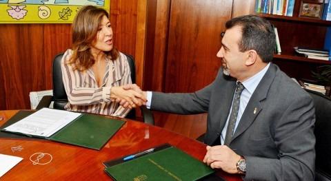 Gobierno gallego acuerda completar abastecimiento Mesía
