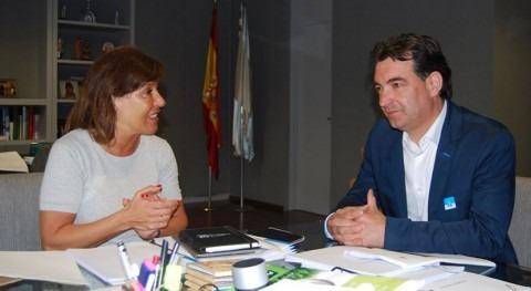 Gobierno gallego analizará colaboración mejora abastecimiento Pontevedra