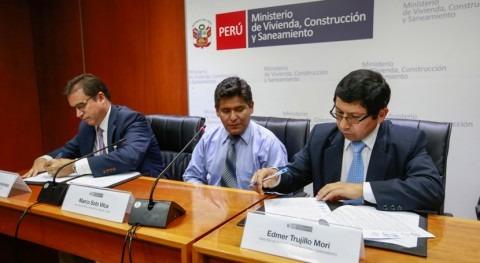 primer proyecto agua potable vía Obras Impuestos Perú se ejecutará Puno