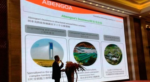 "Abengoa destaca ""2015 West Lake International Conference on Desalination and Water Reuse"""