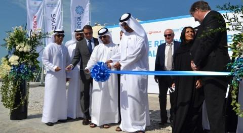 Abengoa inaugura planta desalación tecnología avanzada Masdar Abu Dhabi