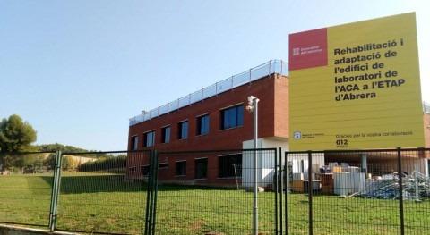 ACA invierte más 1,8 millones euros laboratorio potabilizadora Abrera
