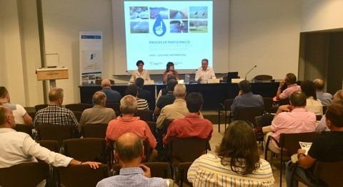 Manresa acoge tercera sesión informativa definir planificación hídrica catalana
