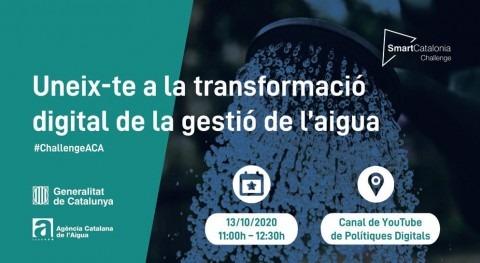 SmartCatalonia Challenge llega gestión agua